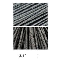 "40"" Long No-Head Black Steel Rebar Tent Stakes"