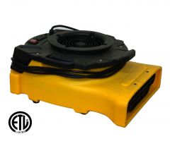Zoom 1/4 HP Centrifugal Compact Flat Floor Dryer