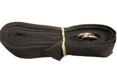 13' Ground Tie Down Strap with D Ring