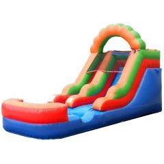 Crossover Rainbow Inflatable Water Slide