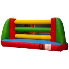 USED Inflatable Boxing Ring with Blower and Accessories