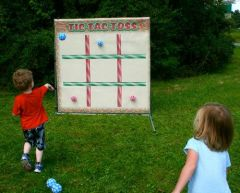 Tic Tac Toss Interactive Carnival Frame Game