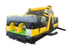 30' Venom Inflatable Obstacle Course with Blower