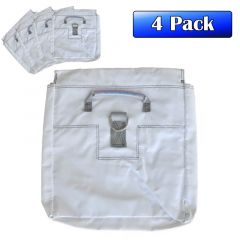 4 Pack of White Sand Bags