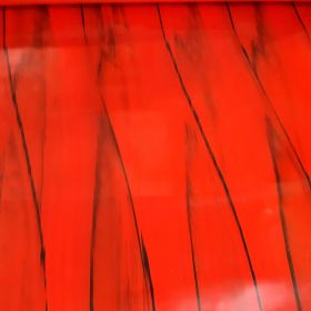 "Moose Supply Red Marble Vinyl Strip 12"" x 60"""