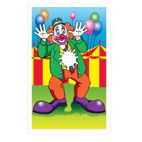Dunking Booth Clown Canvas