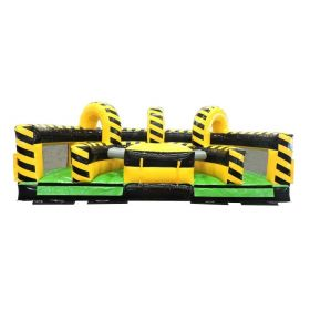 Venom U-Turn Inflatable Obstacle Course with Blower