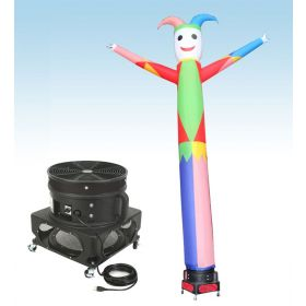 18' Fly Guy Inflatable Tube Man with Blower - Jester