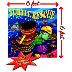 Turtle Rescue Interactive Carnival Frame Game