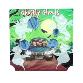 Ghostly Ghouls Air Frame Game Panel