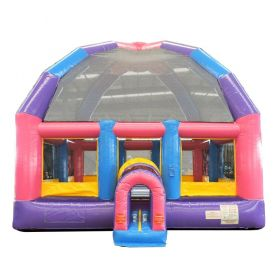 22' x 22' Big Bubba Giant Pink Bounce House with Blower