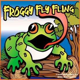 Froggy Fly Fling Interactive Carnival Frame Game