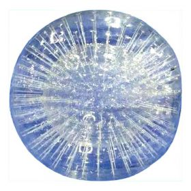 Clear PVC Zorb Ball with Single Hole & Sealed Air Blower