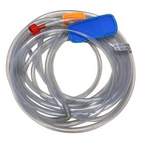 "27' Hose with 8' 9"" Long Double Sprinkler Heads, Fits Small Residential Water Slide Combos"