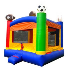 Crossover Sports Bounce House with Blower