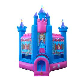 Deluxe Princess Bounce House with Blower