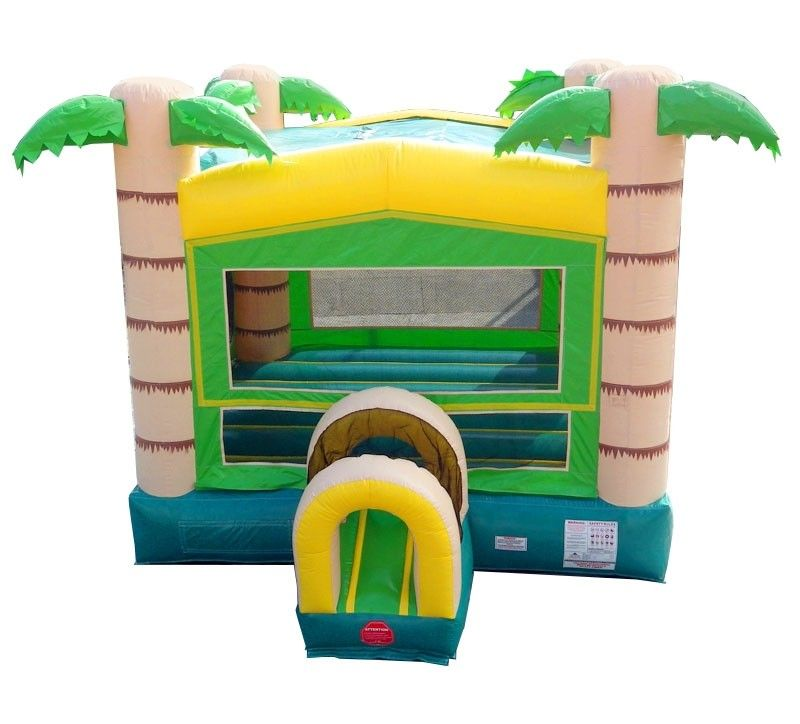 Outstanding Tropical Modular Bounce House With Blower Home Interior And Landscaping Ferensignezvosmurscom