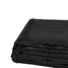 20' x 40' Heavy Duty Waterproof PVC Vinyl Tarp - Black