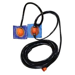 Sprinkler Hose with Double Sprinkler Heads - Compatible with Pogo Crossover Dual Lane Bounce House Slide Combos