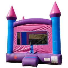 Crossover Pink Bounce House with Blower