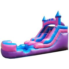 Crossover Pink Inflatable Water Slide