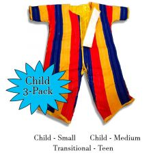 Inflatable Velcro Wall Sticky Suit 3-Pack - Child