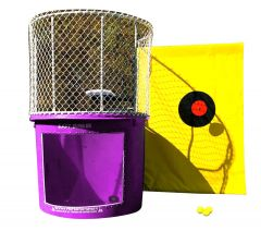 Buy Purple Portable Dunking Booth with New Wingless Design Dunk Tank