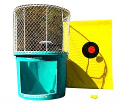 Turquoise Portable Dunking Booth with New Wingless Design