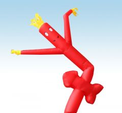 12' Fly Guy Inflatable Tube Man - Red Arrow