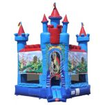 Brave Knight Castle Commercial Bounce House with Blower