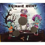 Zombie Hunt UltraLite Air Frame Game Panel