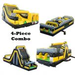 130' Venom GIANT 4-Piece Radical Obstacle Course Climb