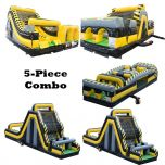 170' Venom BEAST 5-Piece Radical Obstacle Course Dual Climb