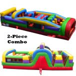 60' Retro SUPER Dual Obstacle Course