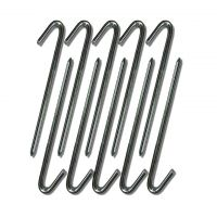Steel Hook Stakes for Inflatables and Camping Tents