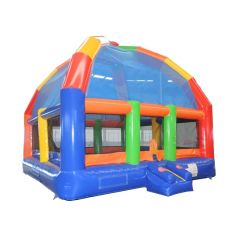 22' x 22' Big Bubba Giant Rainbow Bounce House with Blower