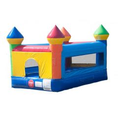 Junior Rainbow Castle Indoor Bounce House with Blower