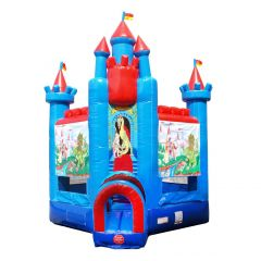 Deluxe Brave Knight Bounce House with Blower