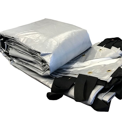 Buy Silver Waterproof Heavy Duty Hay Tarps for Sale