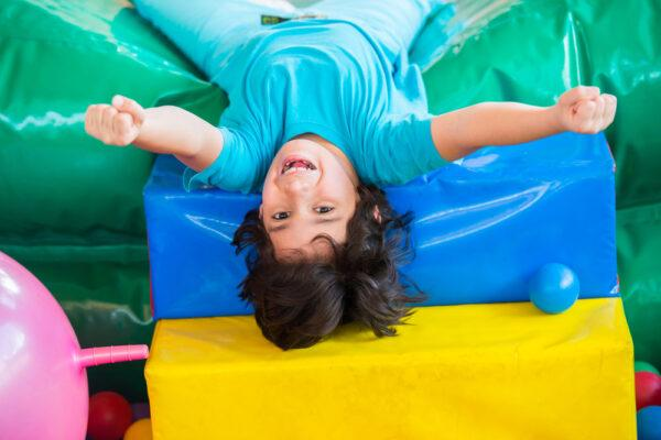 Five Fun Fitness Games for Kids, Bounce House Style!