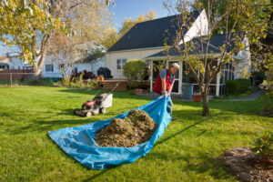 Tarps can be used for all sorts of chores around the house